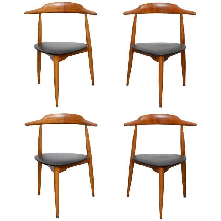 Four Hans Wegner Chairs