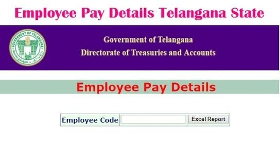 Know Your Salary Online Pay Particulars of AP Telangana Employees - payment slips