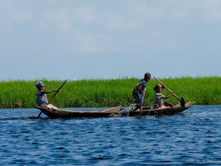 Lake Nokoué, Benin