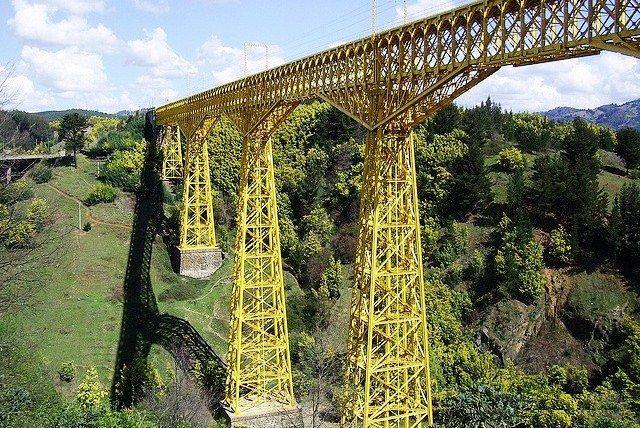 Viaducto del Mallaco (Chile) #puentes
