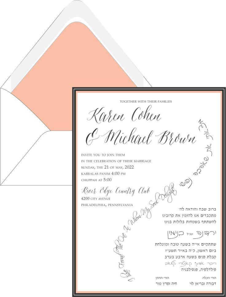 invitations size