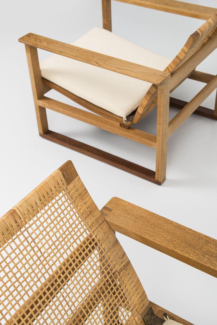 Børge Mogensen easy chairs slædestolen at Studio Schalling