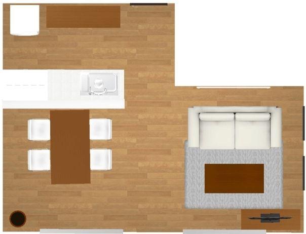 横長リビングダイニングのインテリア レイアウトパターンと家具配置のポイント10選 Roomco ルムコ リビング 横長 インテリア レイアウト リビングダイニング