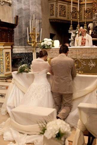 como é feito um ritual cerimonial para casar na igreja católica