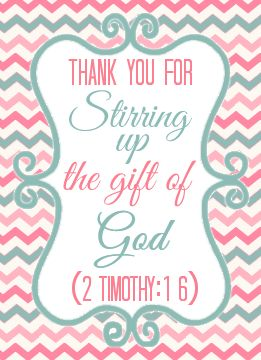 Stir Up Gift of God Thank You Printable | Stuff to Try ...