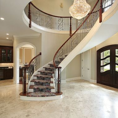 Room Remodeling Ideas With Molding And Wood Floor