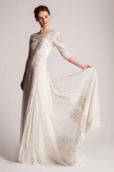 Noivas altas: os 30 vestidos que não vai querer perder Image: 3