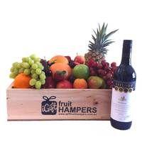 Taylors Estate Shiraz Fruit Hamper  www.igiftfruithampers.com.au, create beautiful fresh fruit gift hampers. Our fruit hampers are shipped across Australia and each one is a unique! #fruithampers #gifthampers #fruitgifts #fruithampersaustralia #fruithamperssydney #melbourne #canberra #goldcoast #sydney