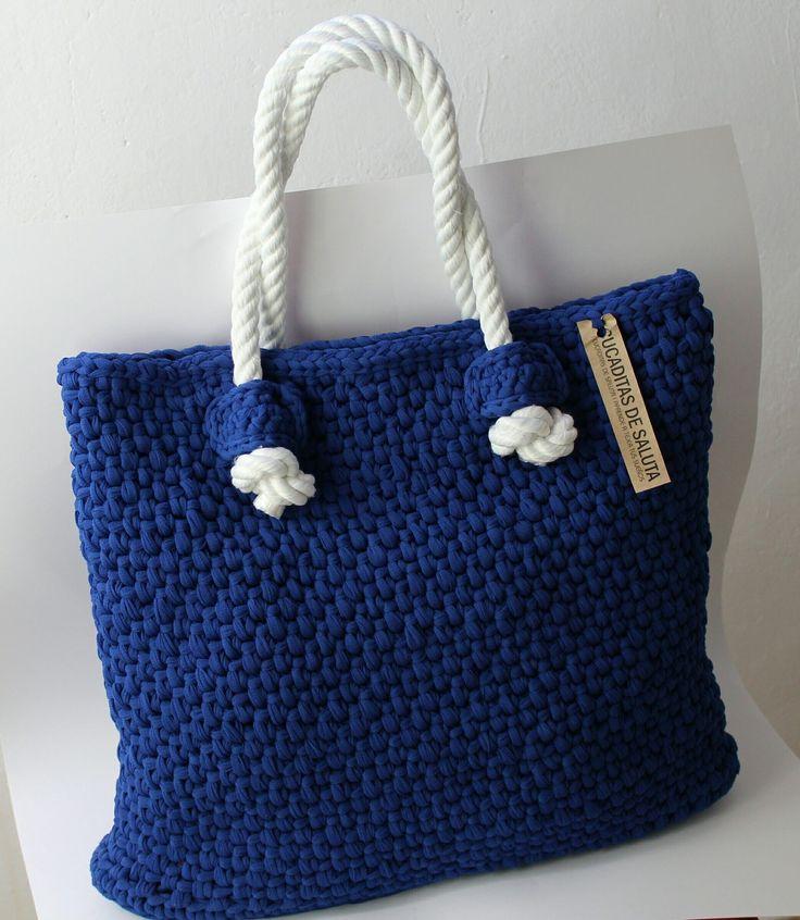 Cesta o Bolso a Crochet FETTUCCIA paso a paso