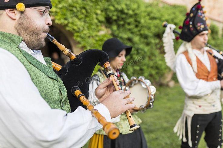 Gaiteros Asturianos y Gallegos de Grupo Alborada.