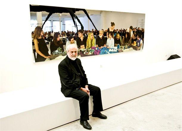 Michelangelo Pistoletto - Franca Sozzani - Roberta Furlanetto - Cittadellarte Fashion - Bio Ethical Sustainable Trend - See more at: http://www.vogue.it/en/talents/contests-and-more/2010/02/cittadellarte-fashion-bio-ethical-sustainable-trend#ad-image1948