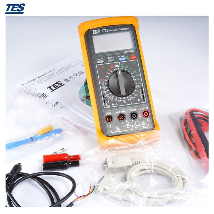 TES2732A Datalogger Digital Multimeter with RS232