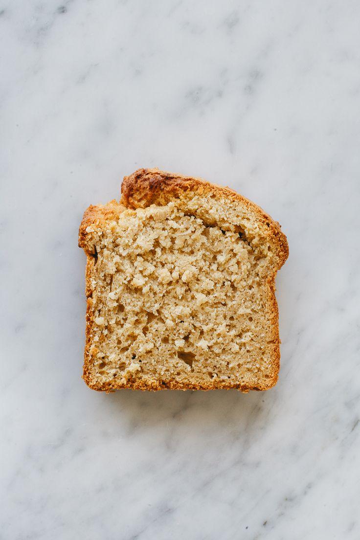 Coconut Bread (w/ Cream, Maple Strawberries and Orange Zest)