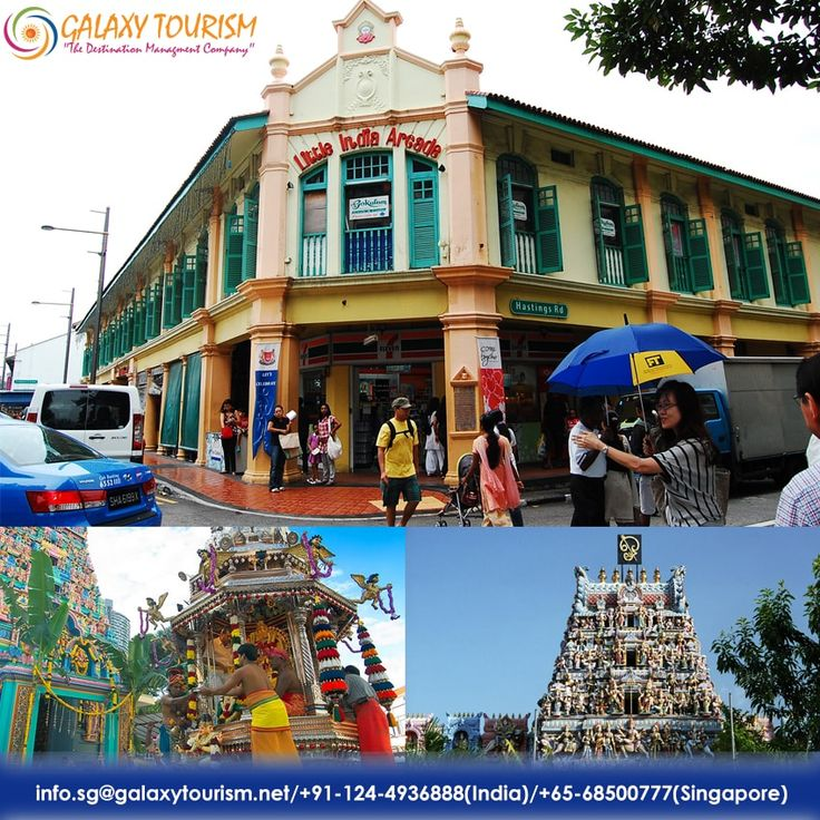 Little India in Singapore is a Popular Tourist place for Indian culture and Traditions. Explore this famous destination with Galaxy Tourism.  Read More:- http://goo.gl/qn259A