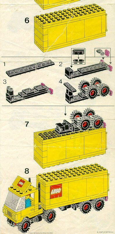 City - Tractor Trailer [Lego 6692]