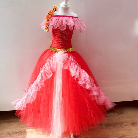 Disney Princess Elena Of Avalor Gown Tutu dress by CordeliaRoyle