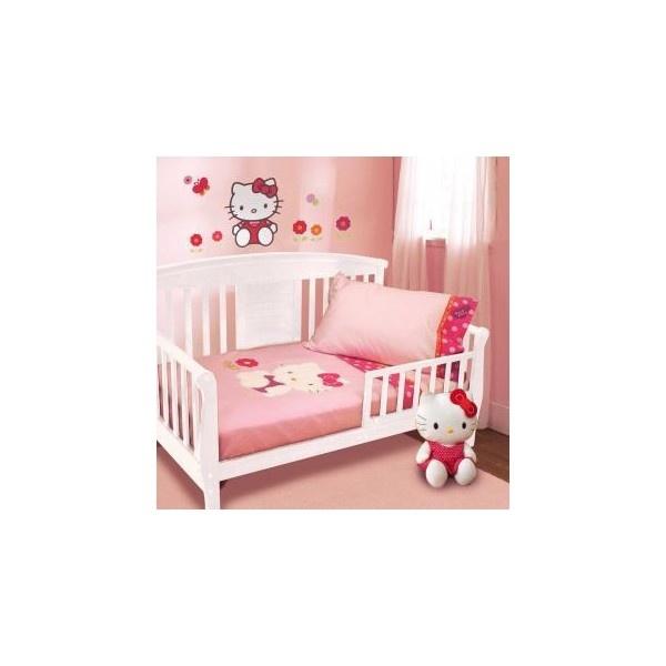 Hello Kitty Garden Bedding By Lambs U0026 Ivy   Hello Kitty Toddler... (