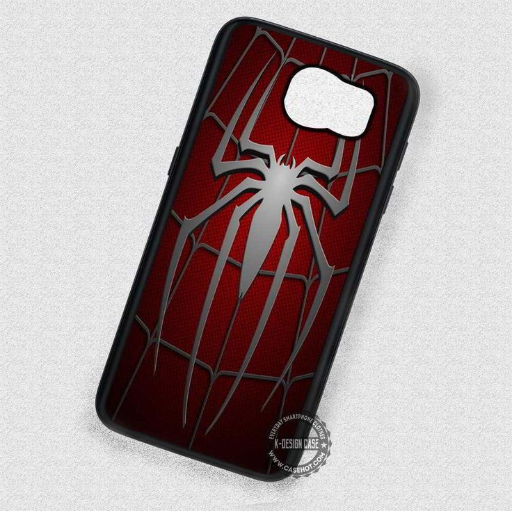 Silver Spider Red Costume - Samsung Galaxy S7 S6 S5 Note 7 Cases & Covers