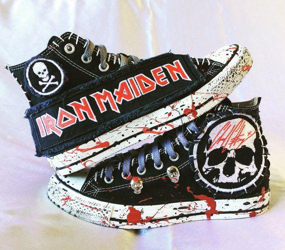 Zapatos de Iron Maiden por Chad Cherry Zapatillas y calzado