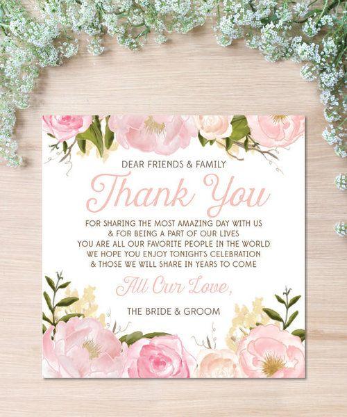 ゲストに伝えたい感謝の気持ち♪ 式の雰囲気に合わせてみるのも◎ ウェディング用のメッセージカードのおしゃれデザイン☆