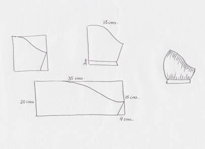 Corte y confección de mangas para blusas