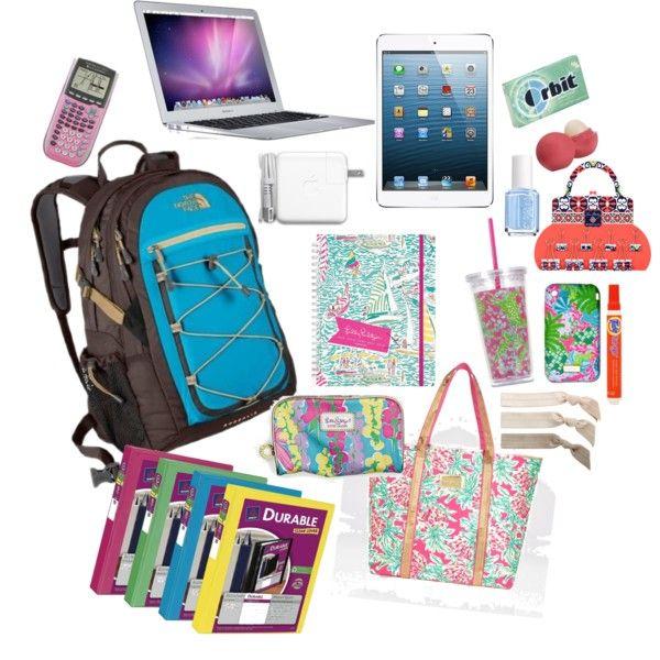 Ready for School by palmbeach-prep, via Polyvore