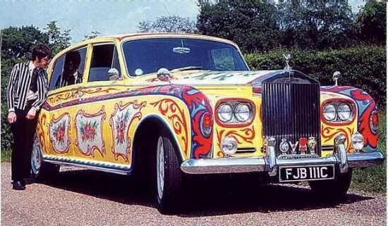John Lennon's 1965 Rolls-Royce Phantom V Limo. CYC.LIMO #personalchauffeur #privatedriver #orangecountylimo