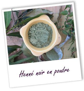 coloration soin capillaire henn noir aroma zone - Coloration Henn Noir
