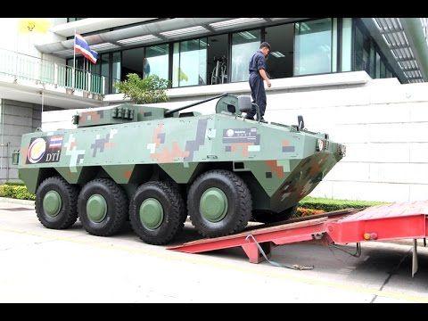 Vehicle armour DTi 8x8 รถส่งกำลังบำรุงยานเกราะล้อยาง Made in Thailand