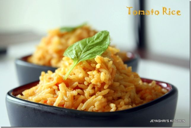Tomato rice, Tomatoes and Rice on Pinterest