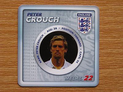 #Official esso world cup 2010 #england #medal no 22 peter crouch tottenham hotspu,  View more on the LINK: http://www.zeppy.io/product/gb/2/122218151289/