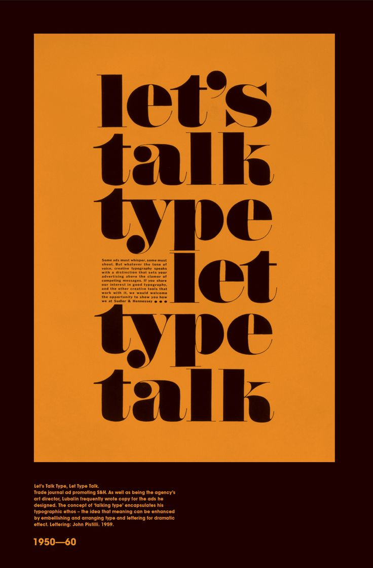 Poster design with a lot of text - Having Published Two Books Celebrating The Genius Of Herb Lubalin As A Graphic Designer Working In