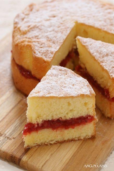 ヴィクトリアサンドイッチケーキの作り方♪ - 【E・レシピ】料理のプロが作る簡単レシピ