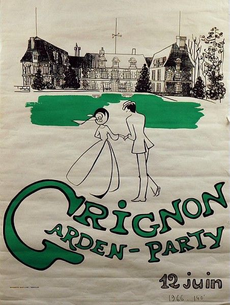 Garden Party de Grignon, 1966 /  Collections du Musée du Vivant - AgroParisTech