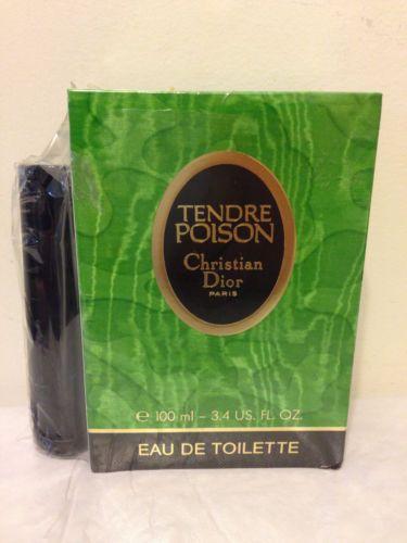 Christian Dior Tendre Poison 3.4 oz Eau de Toilette Spray Old Formula NIB Sealed
