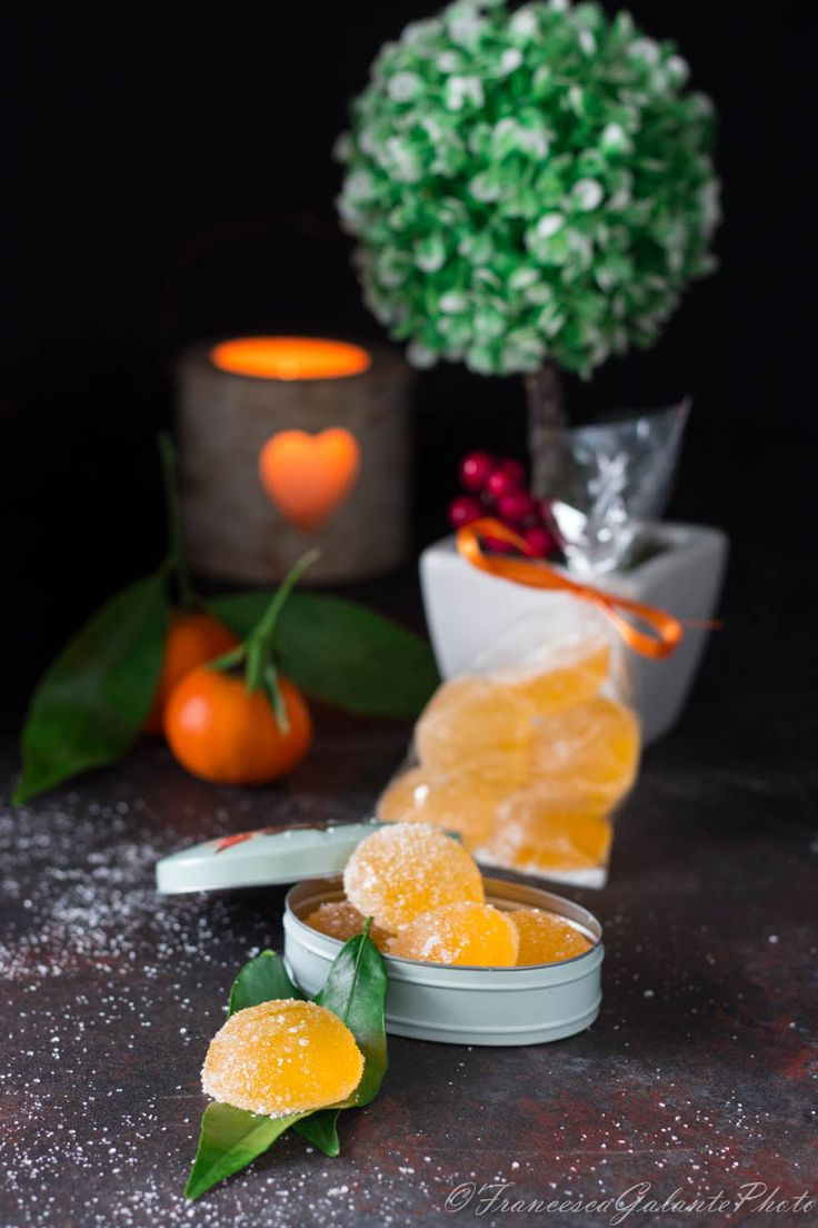 Caramelle gommose gusto clementine idea regalo