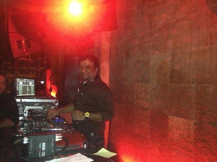 DJ Ivan, the god of Studio 54 at Shiro, Mumbai!