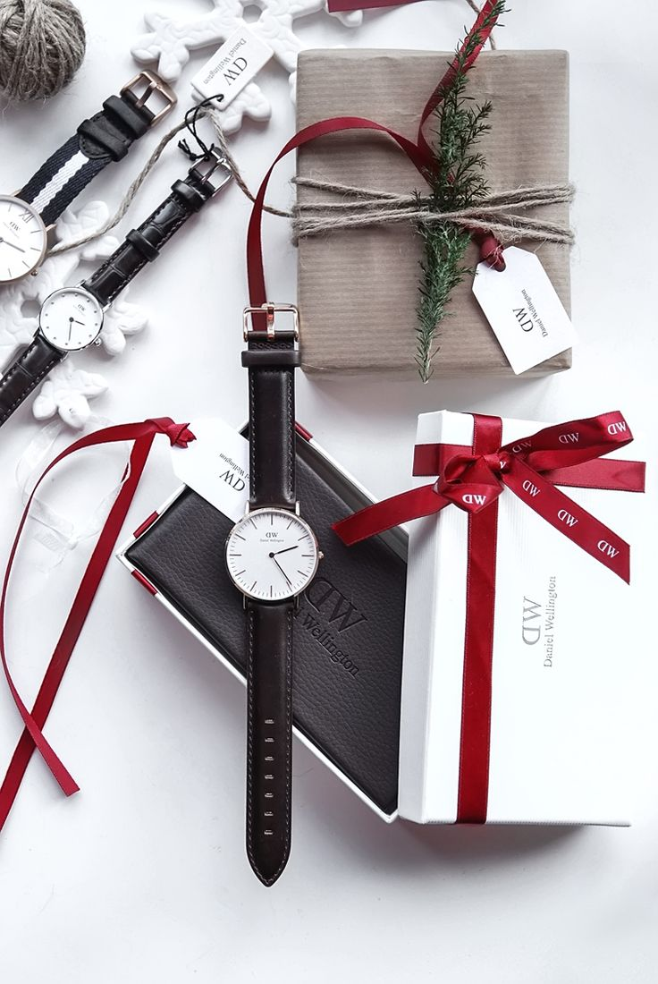 Only Deco Love: Daniel Wellington Christmas gift wrapping
