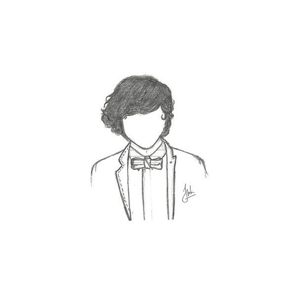 one direction drawing | Tumblr ❤ liked on Polyvore featuring one direction, fillers, drawings, doodles, harry styles, backgrounds, details, quotes, text and embellishment