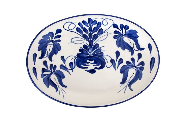 Azulina Ceramics - Clasico Oval Serving Platter