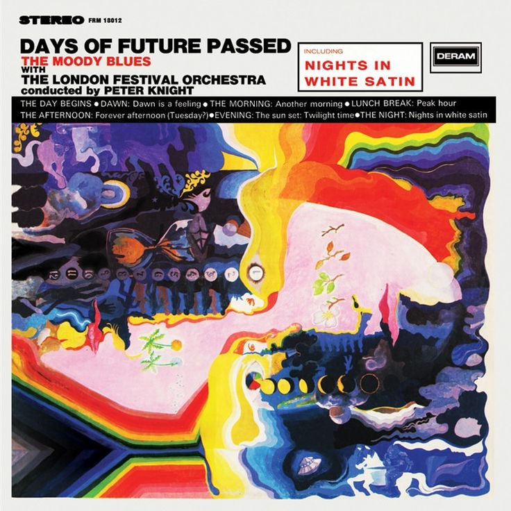 The Moody Blues - Days Of Future Passed on Limited Edition 180g LP