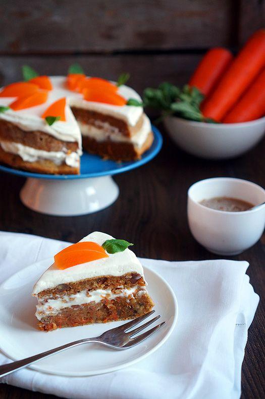 Лучший морковный торт, пошаговые фото рецепты, кулинарный блог