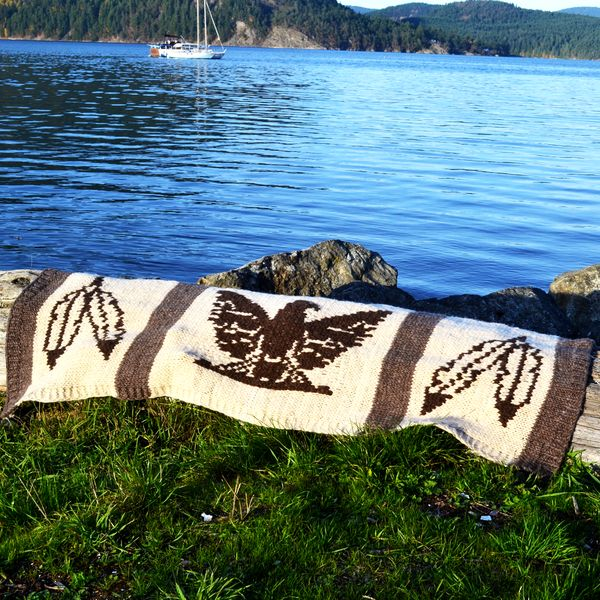 Cowichan Lap Blanket
