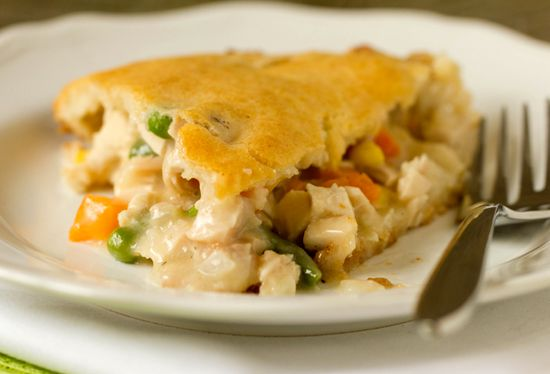 Quick & Easy Chicken Pot Pie - Chicken pot pie is one of those ultimate comfort foods – it's warm, hearty and totally hits the spot on a chilly evening. (made with Bisquick)