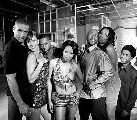 Soulfood - Left to right: Boris Kodjoe; Nicole Ari Parker; Darrin Henson; Malinda Williams; Rockmund Dunbar; Vanessa A. Williams; and Aaron Meeks