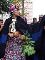 traje tradicional mapuche - Google Search