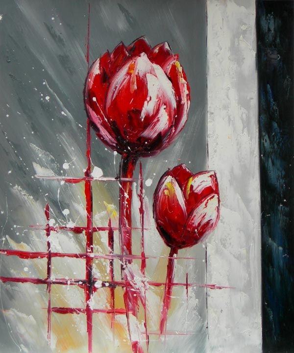 peinture de tulipe - Recherche Google