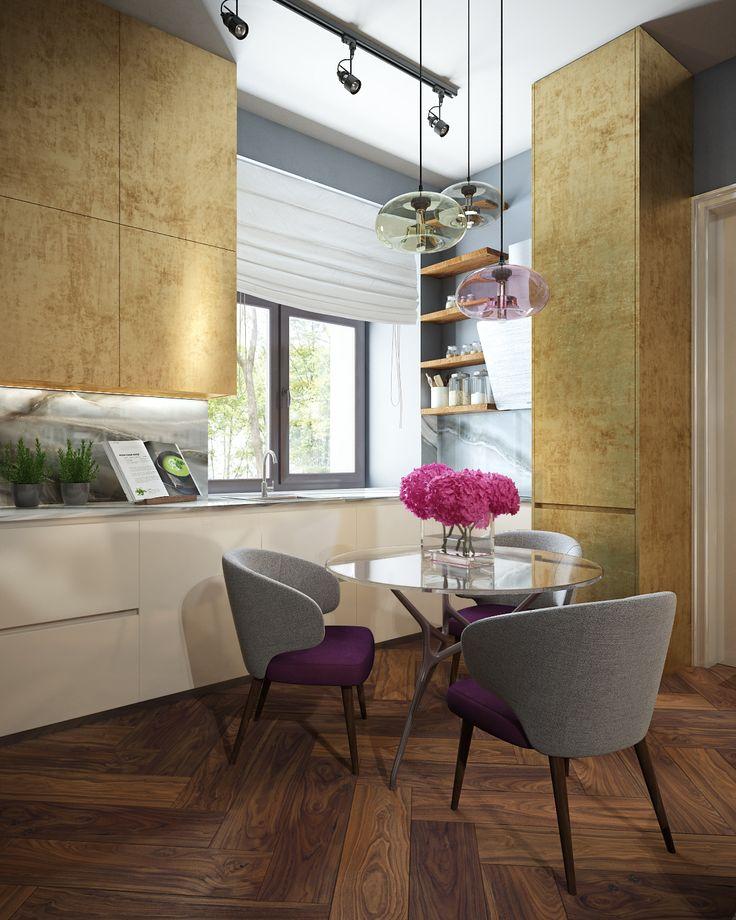 Home Interior Design 3D Renderings, Colors You Like, Wood-5