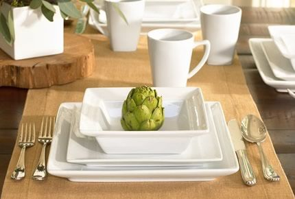 41 best table settings images on pinterest place - Vajillas modernas ...