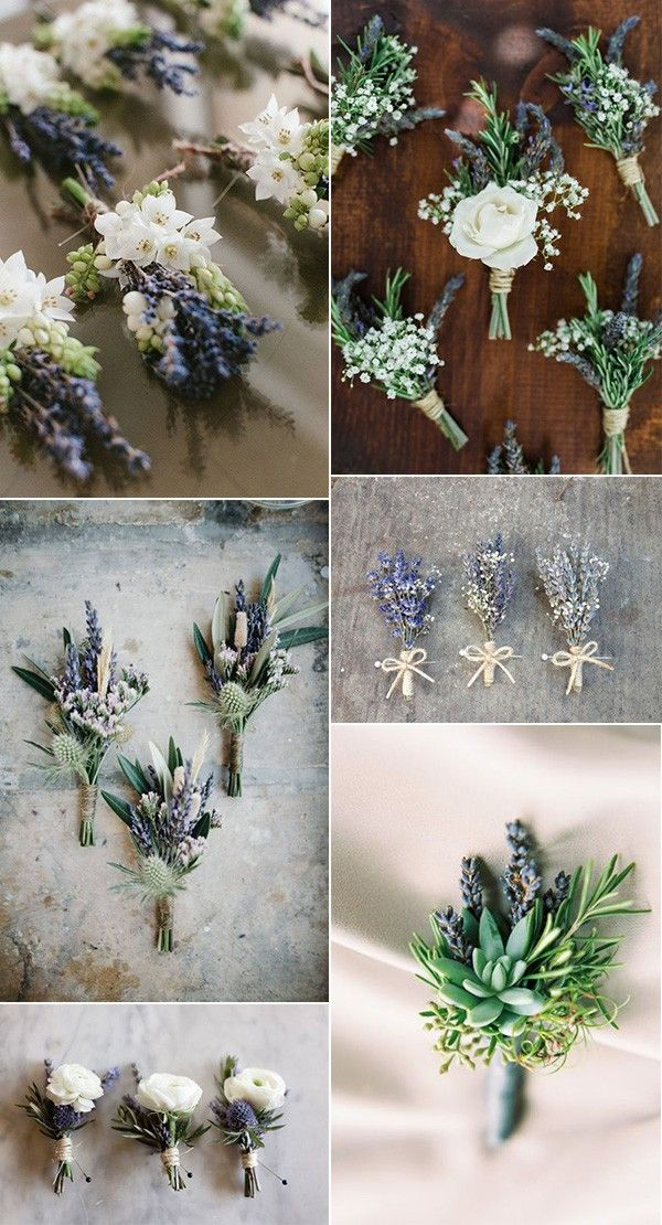 tendencias de ideas para el ramo de la boda con lavanda #weddingideas #weddingdecor #la …